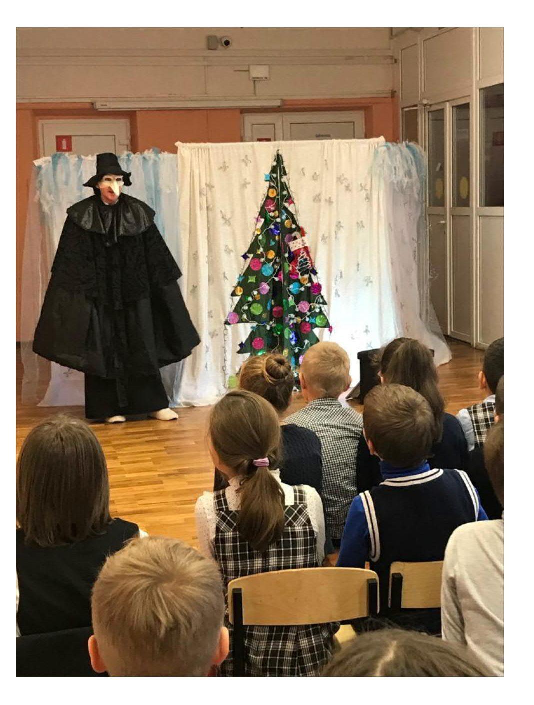 В канун 2020 года в школе состоялось Новогоднее театрализованное представление_2